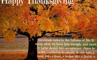 How Can I Be Thankful When….